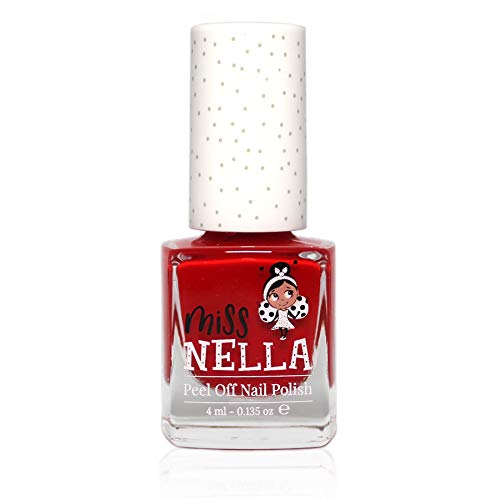 Miss Nella zeer glanzende baby nagellak op waterbasis, Formula peel off Strawberry Cream