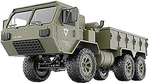 sorteos de estadio Webla Juguete de de de control remoto, camión militar RC 1 16 4WD vehículo todoterreno rastreado RTR nuevo juguete, verde  precioso