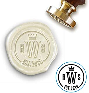 custom brass wax seal