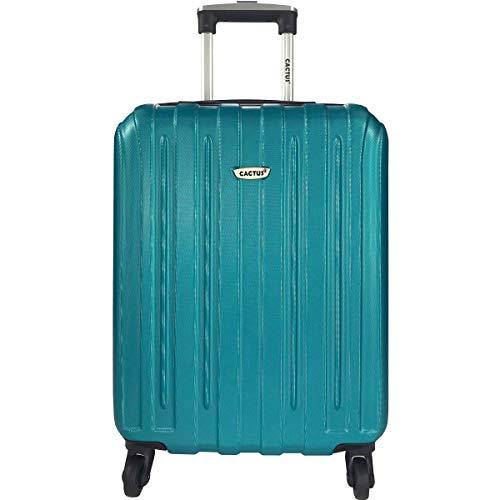 Valise Cabine Rigide Cactus 55 cm - Couleur Turquoise - 36.5 litres
