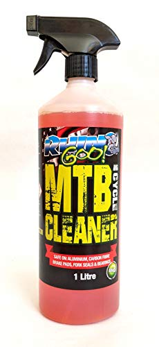 Rhino Goo! Fast Action Cleaner 1L - Bike Cleaner & Chain Degreaser for Mountain Bikes, Road Bikes & Motorcycles