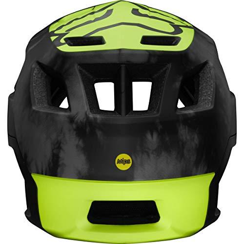 FOX Dropframe Pro MIPS MTB Elevated Mountain Bike Helmet Day Glo Yellow Large