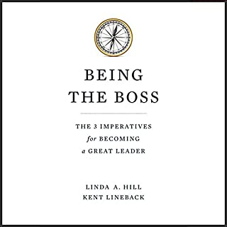 Being the Boss audiobook cover art