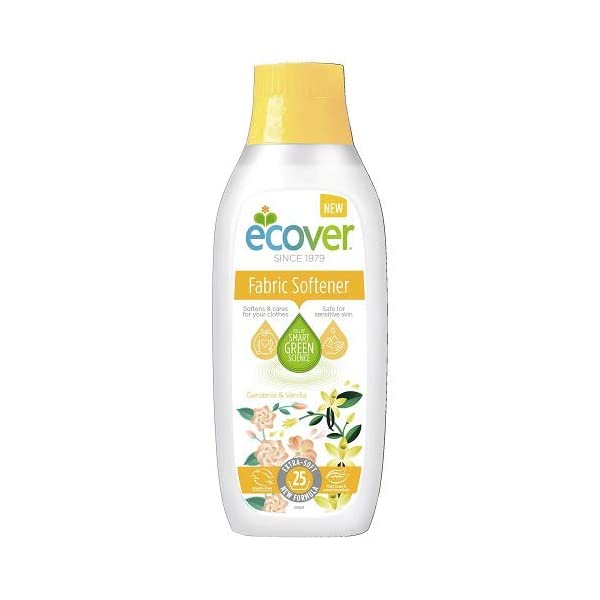 Ecover Fabric Softener Gardenia & Vanilla, 25 Washes, 750ml