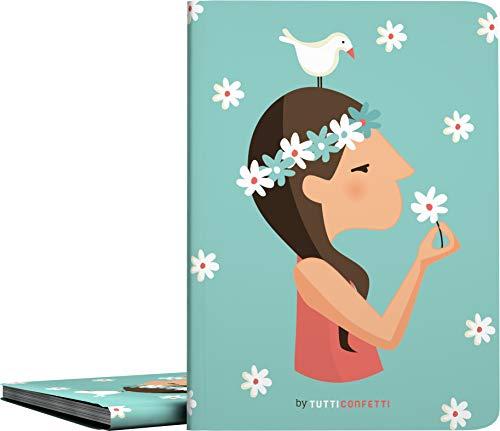 Grafoplás 1332145 Coleccion Tutti Confetti Carpetas de 30 Fundas Transparentes, Cubiertas de Polipropileno Opaco, Modelo Live, A4