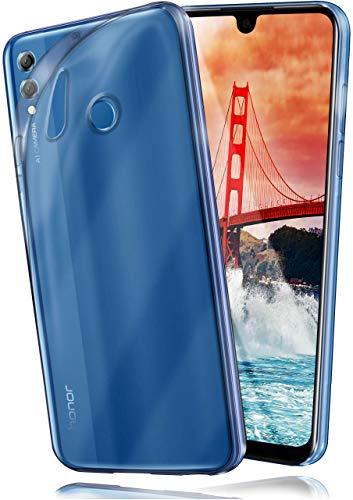 MoEx Funda [Transparente] Compatible con Huawei Honor 8X MAX | Ultrafina y Antideslizante - Claro