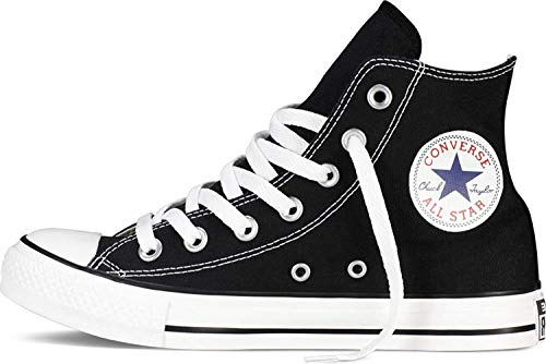 Converse Chuck Taylor All Star High Black 10 B(M) US Women/8 D(M) US Men