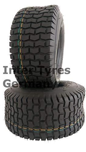 2 Stücke 11x4.00-4 S2101 4PR NaRubb 11x4-4 Reifen für Rasentraktor Aufsitzmäher NEU