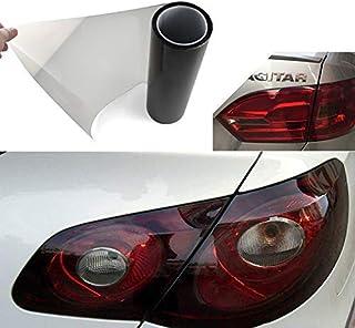 rosa WINOMO coche luz adhesivo autoadhesivo faros delanteros para faros traseros para tinte vinilo pel/ícula