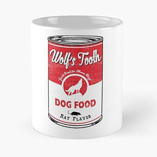 Brad Food Dog Warhol Rat Wolfs Tarantino Campbells Pitt Hollywood Tooth Best 11 Ounce Ceramic Coffee Mug