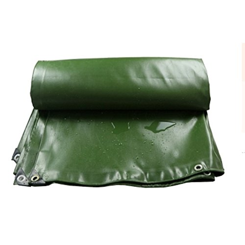 ZfgG Épais PVC imperméable à l'eau bâche imperméable à l'eau de Couteau de Tissu de Pluie de bâche de Chiffon d'auvent Trois Anti-Tissu (Size : 1.5 * 2m)