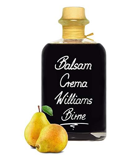 Balsamico Creme Birne 0,7L 3% Säure mit original Crema di Aceto Balsamico di Modena IGP