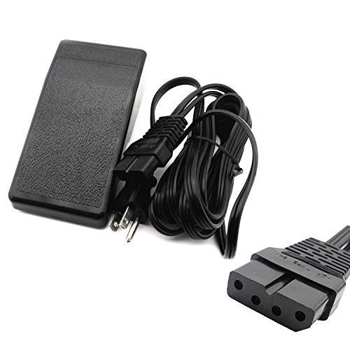 Foot Control Pedal W/Cord #C1019 for Janome S650 S750 / Necchi FB12 Models -  Cutex Sewing Supplies