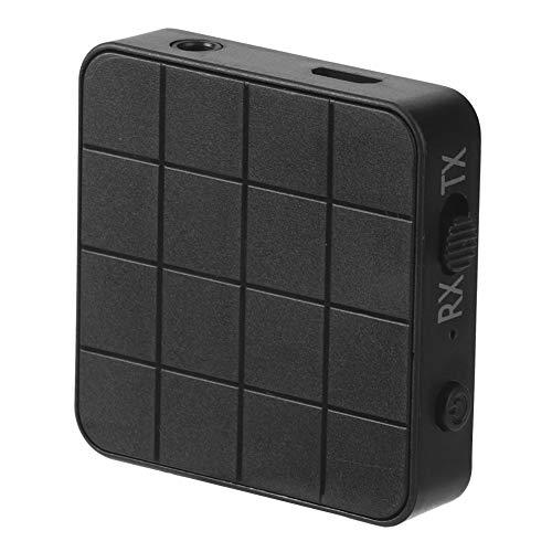 Receptor de audio-Bluetooth 5.0 Receptor de audio 2 en 1 Transmisor Adaptadores estéreo de música para PC de TV de automóvil