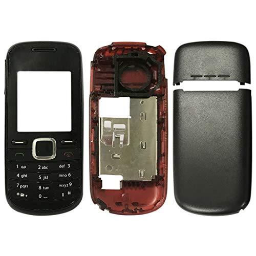Liaoxig Nokia Spare Cover for alloggiamento Completo (Cover Anteriore + Cornice Centrale + Cover Posteriore della Batteria + Tastiera) for Nokia 1661 Nokia Spare (Colore : Color1)