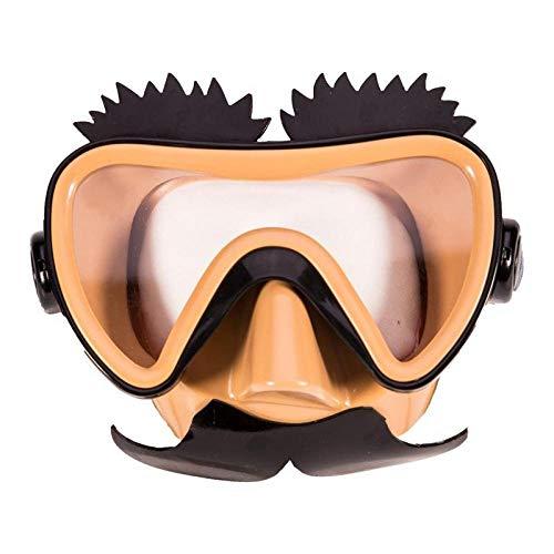 TQBT Tauchmaske Schnorchelmaske Tauchmaske Schwimmbrille langlebig Silikon Cartoon Kinder Anti-Fog wasserdicht im Freie