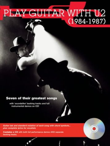 Partition : U2 Play Guitar with 1984-1987 (+ CD)