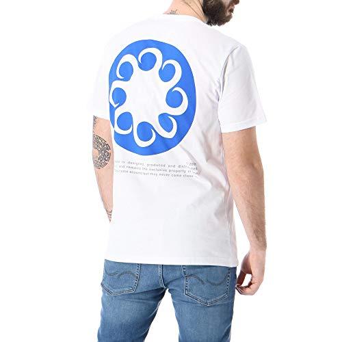 Octopus Logo Tee T-Shirt Uomo 20SOTS06 Wht White (L)