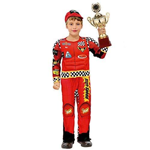 Master Lap Disfraz Piloto Rally nio Infantil 7-9 Aos