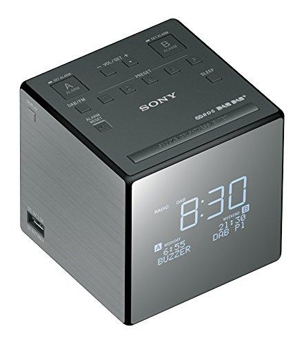 Sony XDR-C1DBP Radio/Radio-réveil Compatible Radio AM/FM et Radio Numérique DAB/DAB+