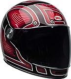BELL Bullitt SE Cruiser Helmet - Ryder Gloss Red - Medium