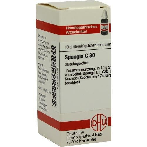 SPONGIA C30 10g Globuli PZN:2931671