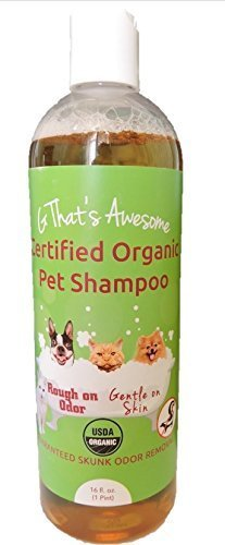 G That's Awesome Brands Certified Organic Pet Shampoo