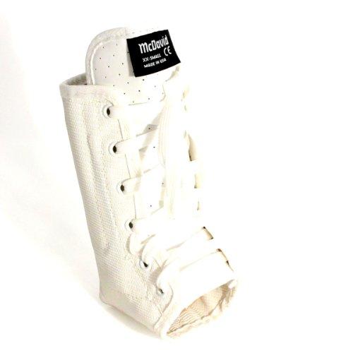 McDavid 199 Lightweight Ankle Brace (White, Small)