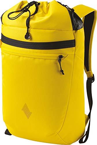 Nitro Fuse Rucksack leichter modischer Daypack exklusiver Side &Toploader in Gymbag Optik, Cyber Yellow, 44x29x20cm / 24L