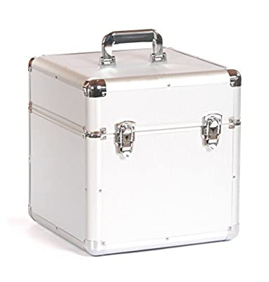"Studio X Large 12"" Vinyl Record Collection DJ Flight Case Storage Box Holds 100"