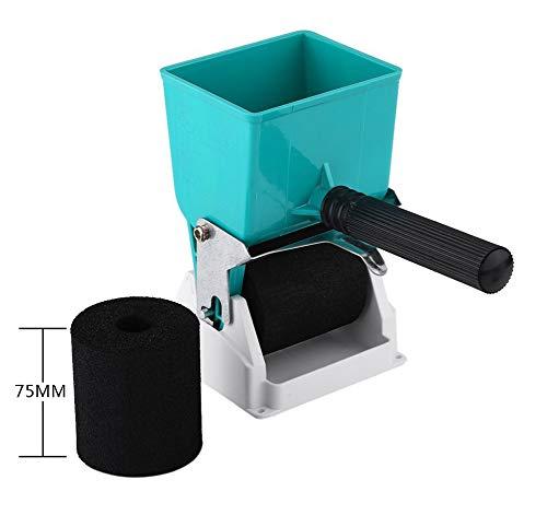 Tragbarer Kleber Applikator Geeignet für PVC-Kleber,Latex,Holzleim und Anderen flüssigen Kleber DIY Handkleberrolle,2 Stile,3inches