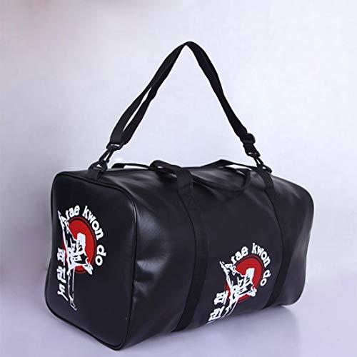 BXGZXYQ DREI Arten von Boxen und Taekwondo, Taipa Tasche Leder/Boxing Gym/Boxen/Muay Thai Taekwondoo Karate Sanda MMA/Beutel Reisen Duffel Bags (Farbe : Taekwondo)