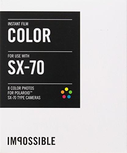 Impossible PRD2783 Color Film for Polaroid Sx-70 Cameras