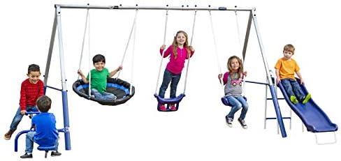 XDP Recreation Free N Swing Swing Set Gray product image
