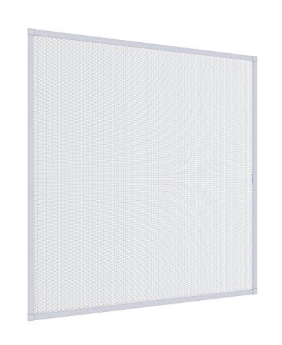 Windhager Insektenschutz Expert Spannrahmen Fliegengitter Alurahmen für Fenster, 100 x 120 cm, weiß, 04336