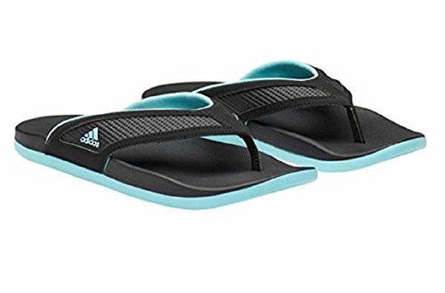 adidas Womens Adilette CF+ Yoga & Summer Sandals Black/Mint Size 9 M US