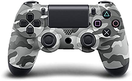 Bluetooth Wireless PS4 Controller for PS4 Vibration Joystick Gamepad PS4 Game Controller (Gray camouflage)