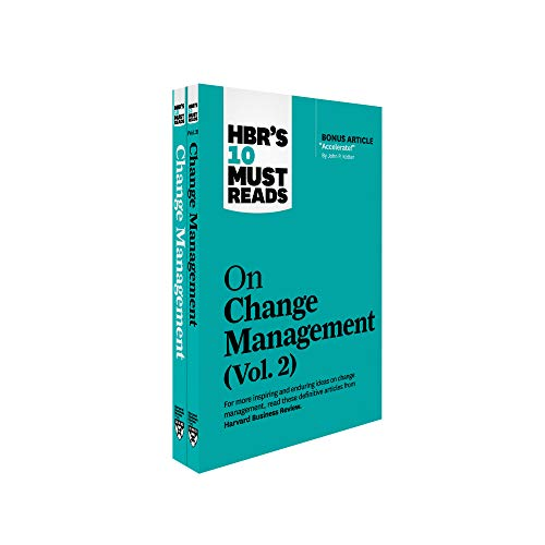HBR's 10 Must Reads on Change Management 2-Volume Collection (English Edition)