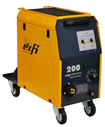ERFI Ergo Line Evo 200 MIG MAG Schutzgas Schweißgerät - 100% Made in Germany!