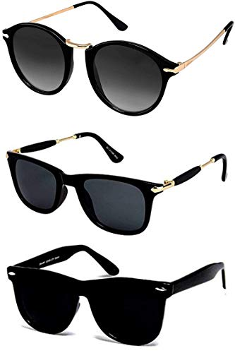 Y&S Sunglasses for Cooling Combo Latest Stylish Goggles Women