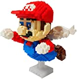 QSSQ Flying Mary Micro Blocks DIY Building Block Toys Lindo Dibujos Animados Figuras Figuras Juguetes para Niños para Niños Regalos, 1012 PCS
