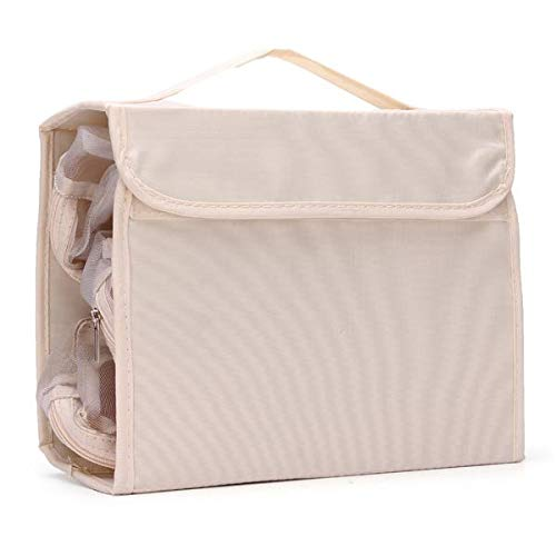 Delighted Portable Nylon Foldable Travel Wash Cosmetic Storage Bag