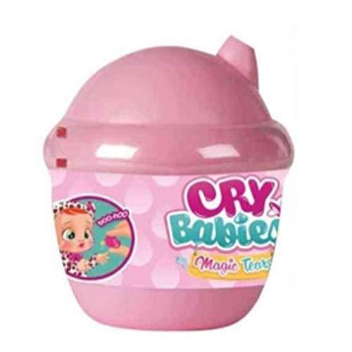Magische weinende Puppe Babypuppe Lebensechte Babypuppe für Jungen Jungen Mädchen Rosa