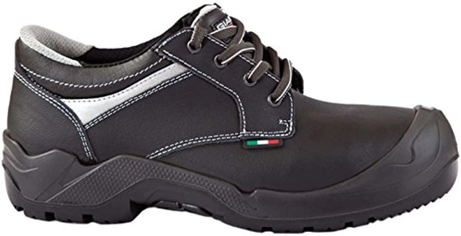 Giasco TO061D42  Malaga  Safety shoes, S3, Size 8, Black - EN safety certified