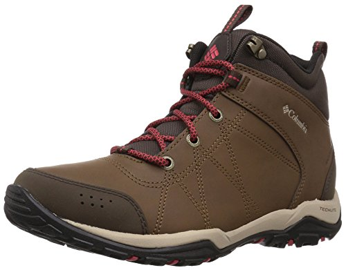 Columbia Women's Fire Venture Mid Leather Waterproof Hiking Boot