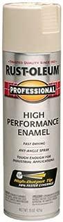 Rust-Oleum 7570838 Professional High Performance Enamel Spray Paint, 15 oz, Almond