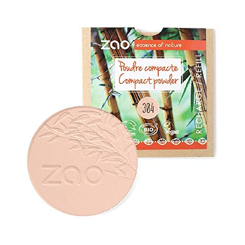 Zao - Recharge Poudre Compacte / 9 Gr - Couleur : Capuccino