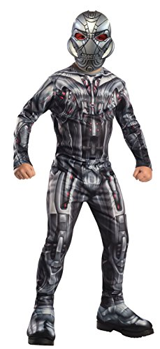 Marvel - I-610441m - Disfraz para niños - Ultron Clásicos - Vengadores 2 - Talla M