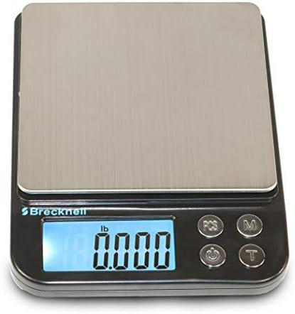 Brecknell EPB Small Digital Pocket Balance Scale 500 Gram Capacity Battery Powered Kilogram product image