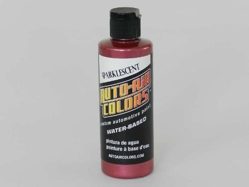 Airbrush Paint - Auto Air Colors - 4592 Sparklescent Radberry (120ml | 4oz)